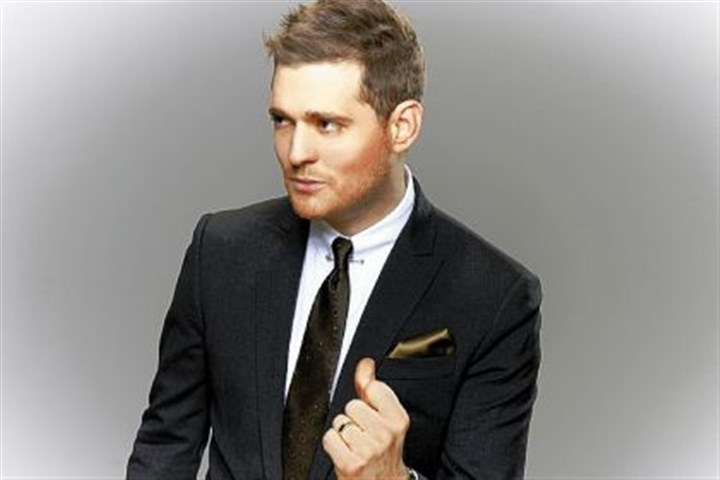 Michael Buble Michael Buble will perform at 8 p.m. Friday at the Consol Energy Center.