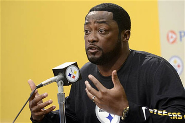 Mike Tomlin Steelers coach Mike Tomlin speaks to the media during his weekly press conference Tuesday at the Steelers South Side training facility.