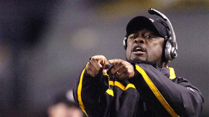 Mike Tomlin Head coach Mike Tomlin (vs. Dolphins 11/26/07)