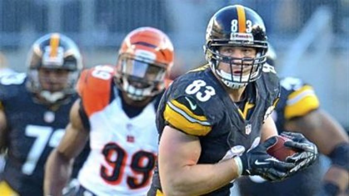 miller Heath Miller picks up a first down Sunday against the Bengals. Miller will have surgery to repair a torn ACL, MCL and possibly PCL in his knee, ending his season.