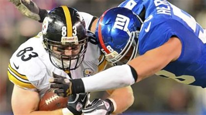 miller After three consecutive wins, Heath Miller and the Steelers are back in the hunt for the AFC North title.