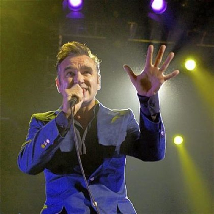 Morrissey Morrissey: Set for Jan 21 at Heinz Hall, but we'll see ...