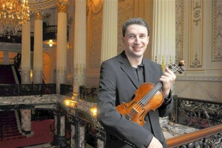 2014NoahBendix-Balgley0214 Noah Bendix-Balgley became the Pittsburgh Symphony Orchestra concertmaster in 2011.