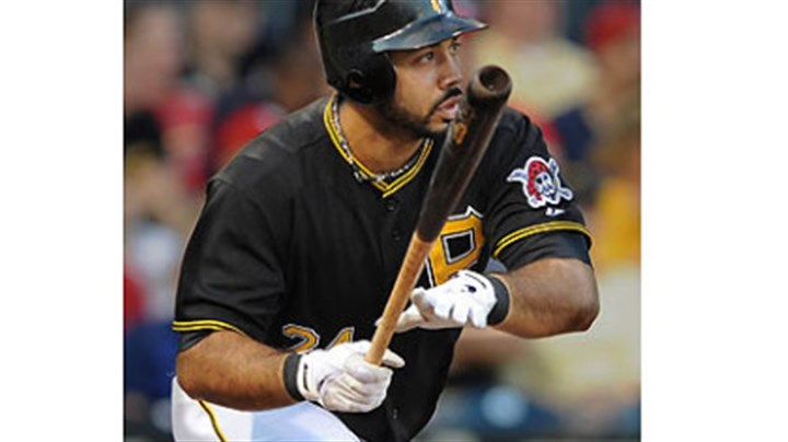 Pedro Alvarez The Pirates' Pedro Alvarez homers off Cardinals pitcher Jake Westbrook in the third inning.