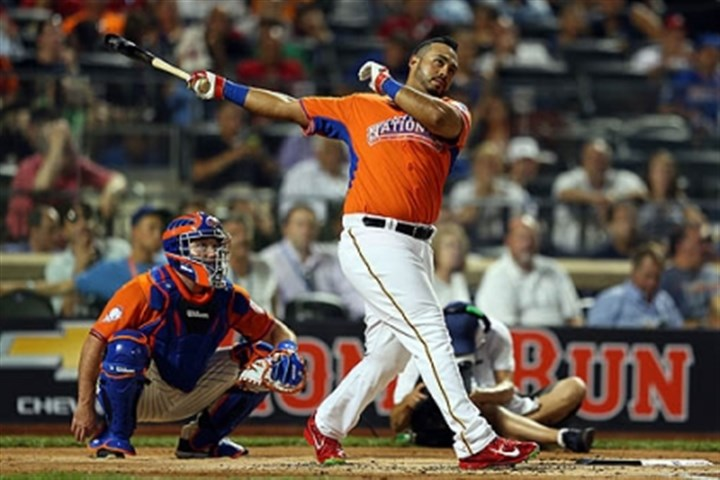 Pedro Alvarez Pedro Alvarez not only got to play in an All-Star Game in his hometown, but also got to compete in the Home Run Derby.