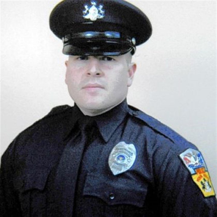Penn Hills police Officer Michael Crawshaw Penn Hills police Officer Michael Crawshaw