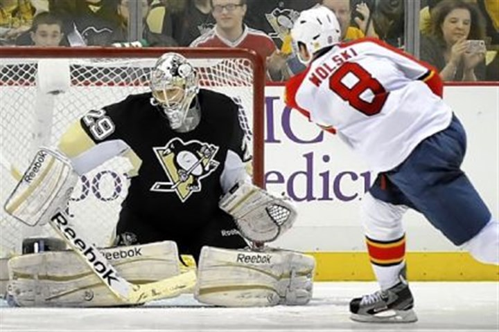 pens1 Marc-Andre Fleury's true measure is the playoffs.
