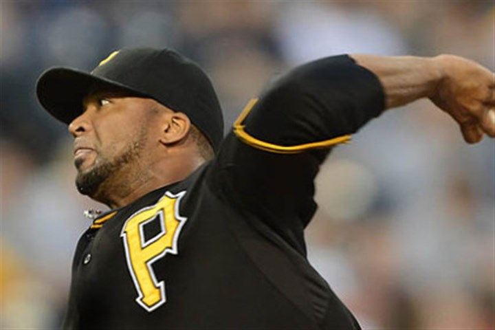 Pirates' Francisco Liriano Francisco Liriano allowed two runs on three hits through eight innings against the Reds Friday at PNC Park.