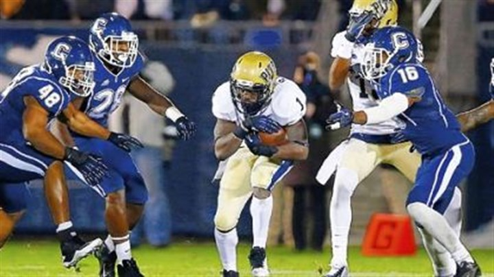 Pitt Pitt running back Ray Graham said the Panthers came out a little sluggish Friday against Connecticut.