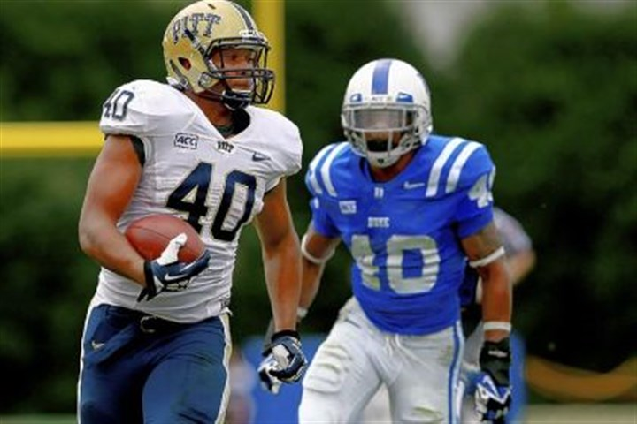 Pitt Pitt's offensive line helped James Conner rush for 173 yards Saturday at Duke.