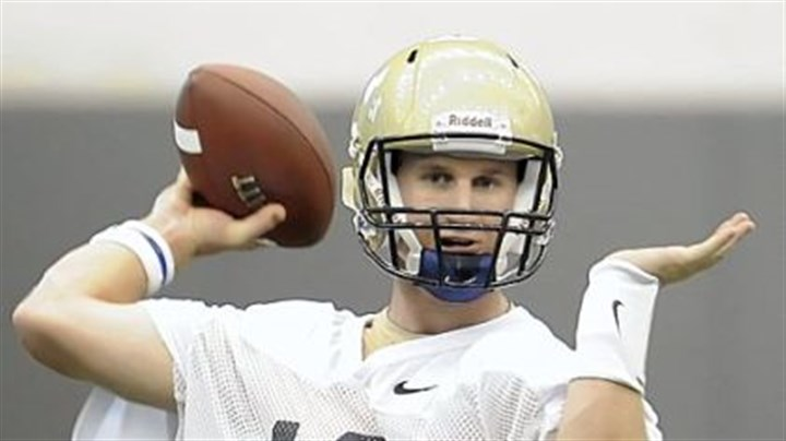 Pitt quarterback Pat Bostick Pitt quarterback Pat Bostick has a little bit of coach in him already.