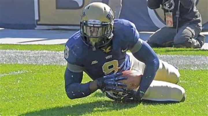Pitt1 One of Todd Thomas' highlights at Pitt this season was recovering a blocked punt for a touchdown Oct. 13 against Louisville.