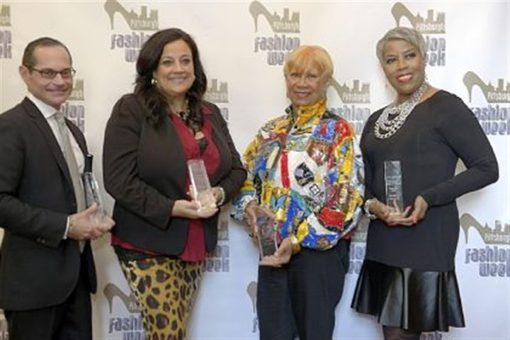 Pittsburgh Fashion Hall of Fame inductees Pittsburgh Fashion Hall of Fame inductees for 2013: Tom Julian, left; Jean Bryant, third from left; Debbie Norrell, right; exceptional artist awardee Jacqueline Capatolla, second from left.