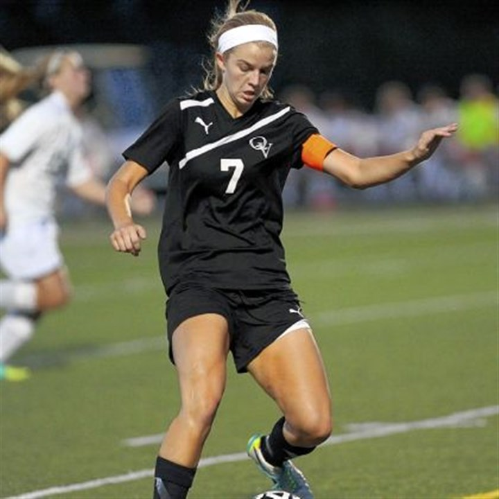 Quakers Quaker Valley's Greer Monahan has scored 11 goals in five games.