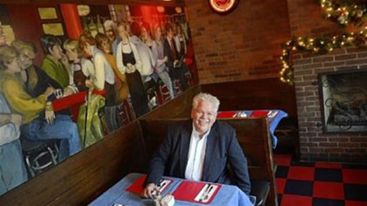"Rick Sebak Rick Sebak waits for lunch at Tessaro's in Bloomfield. Mr. Sebak celebrated 25 years at WQED with ""25 Things I Like About Pittsburgh,"" and Tessaro's is one of the things on the list."