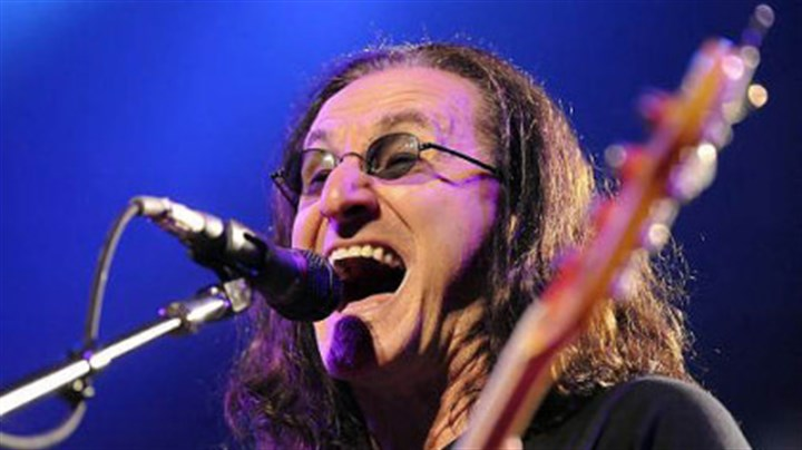 Rush frontman Geddy Lee Lead singer Geddy Lee soars with Rush at Consol Energy Center Tuesday night.