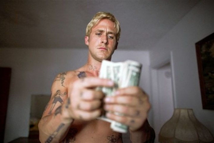 "Ryan Gosling When Ryan Gosling disappears from the screen in ""The Place Beyond the Pines,"" the film loses its momentum."