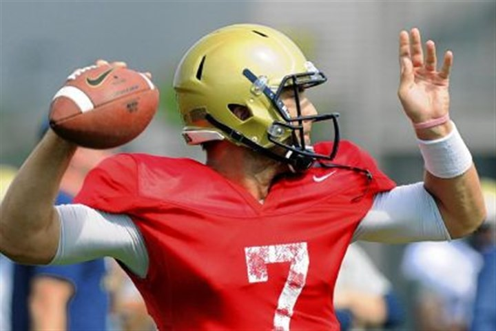 savage Pitt starting quarterback Tom Savage finished Friday's scrimmage 5 of 7 for 63 yards and a touchdown.
