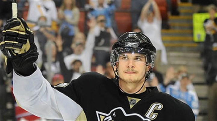 Sidney Crosby Sidney Crosby: Would like equipment returned.