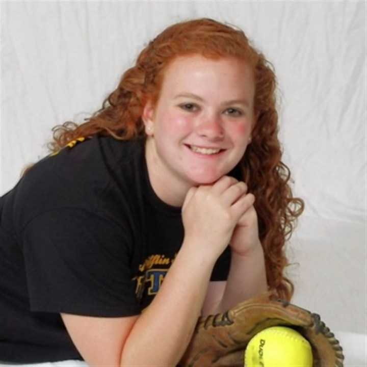 small West Mifflin softball star Marla Small, one of the Post-Gazette's athletes of the week.