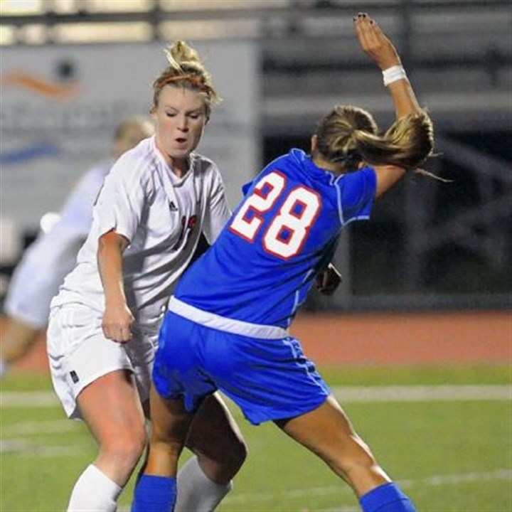 South Athlete Peters Township's Veronica Latsko has scored 107 goals in her high school career.