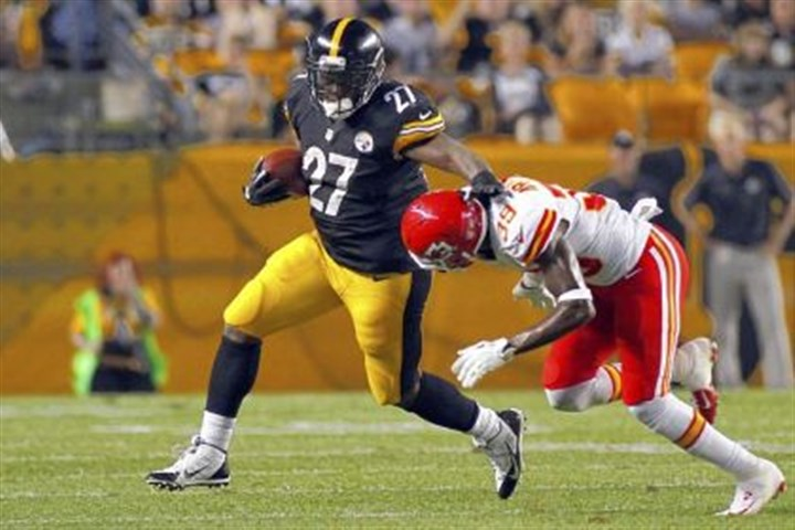 Steelers-3 In four preseason games, Jonathan Dwyer rushed for 136 yards on 34 attempts. He returns to the Steelers after an injury to LaRod Stephens-Howling.