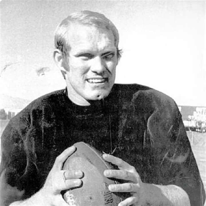 "Steelers Terry Bradshaw in 1972 -- ""I never did see it."""