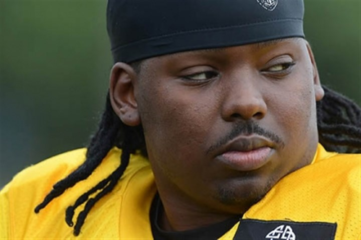 Steelers mclendon Steelers nose tackle Steve McLendon at training camp at Saint Vincent College near Latrobe.