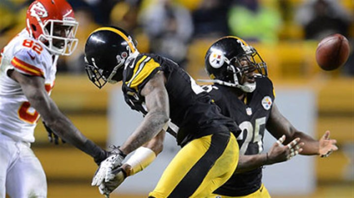 Steelers' Ryan Clark Steelers' Ryan Clark breaks up pass intended for the Chiefs' Dwayne Bowe