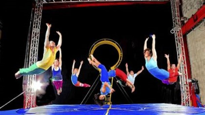 STREB STREB makes an impact with performances that are as much athletic events as they are works of art.