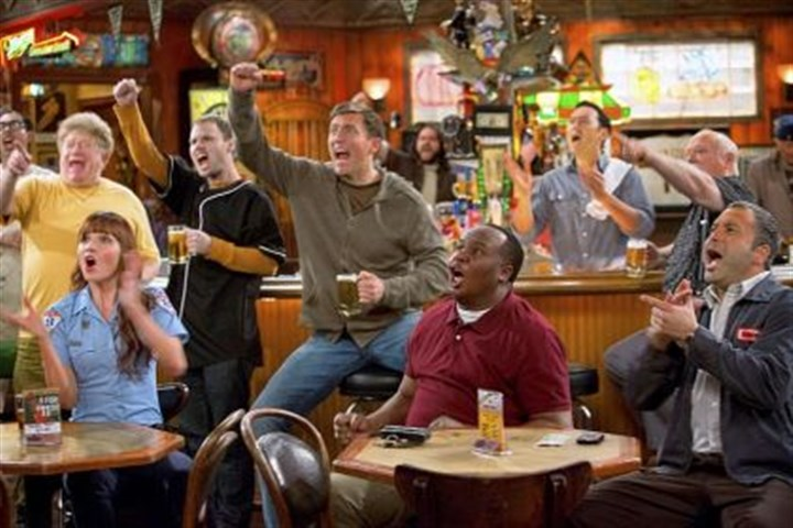 """Sullivan & Son"" cast There's plenty of cheering for Pittsburgh teams from Valerie Azlynn, Owen Benjamin, Roy Wood Jr., Steve Byrne and Ahmed Ahmedon ""Sullivan & Son."""