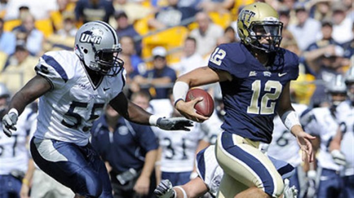 Tino Sunseri Pitt quarterback Tino Sunseri has thrown for 520 yards this season.