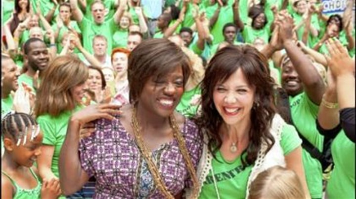 "Viola Davis and Maggie Gyllenhaal Viola Davis and Maggie Gyllenhaal star in ""Won't Back Down."""