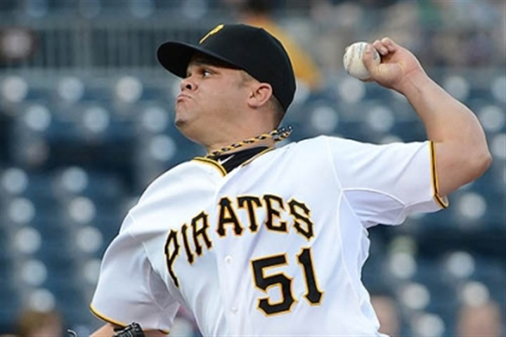 wandy Pirates starter Wandy Rodriguez continues to rehab.