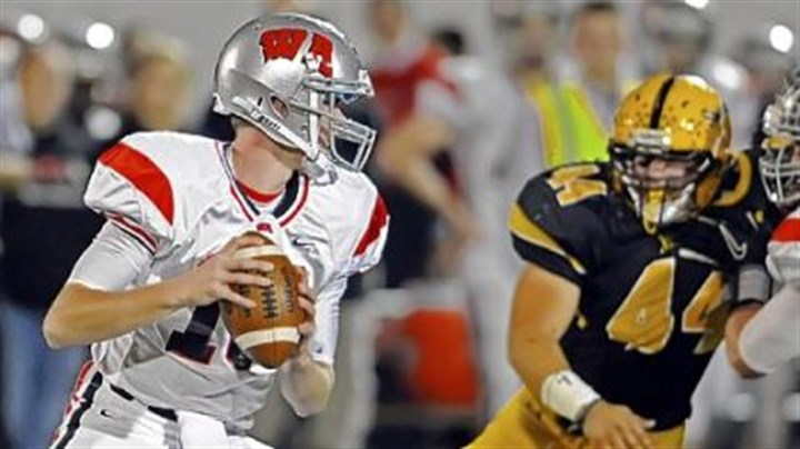 West Allegheny Football West Allegheny quartyerback Andrew Koester has passed for 680 yards in the Indians' ground-oriented offense this season.