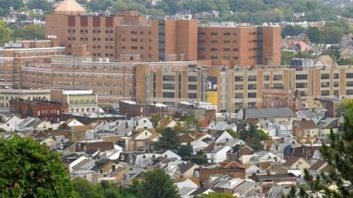 West Penn Allegheny Health System West Penn Allegheny Health System complex in Bloomfield.