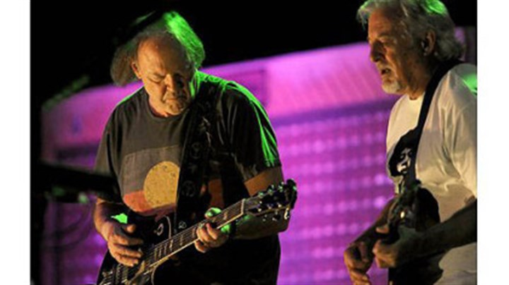 Young Neil Young performs with Crazy Horse at the Petersen Events Center Tuesday night.
