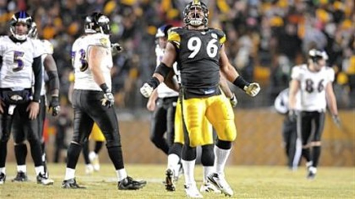 Ziggy Hood Steelers defensive lineman Ziggy Hood has started the past 13 games.