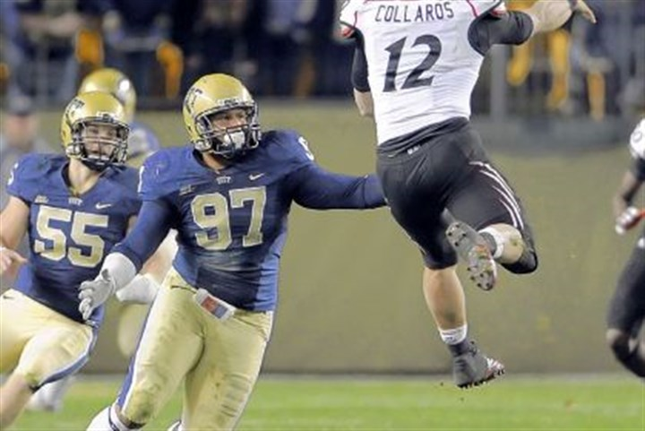 Aaron Donald Pitt's Aaron Donald was a dominant defender and named the ACC's Defensive Player of the Year.