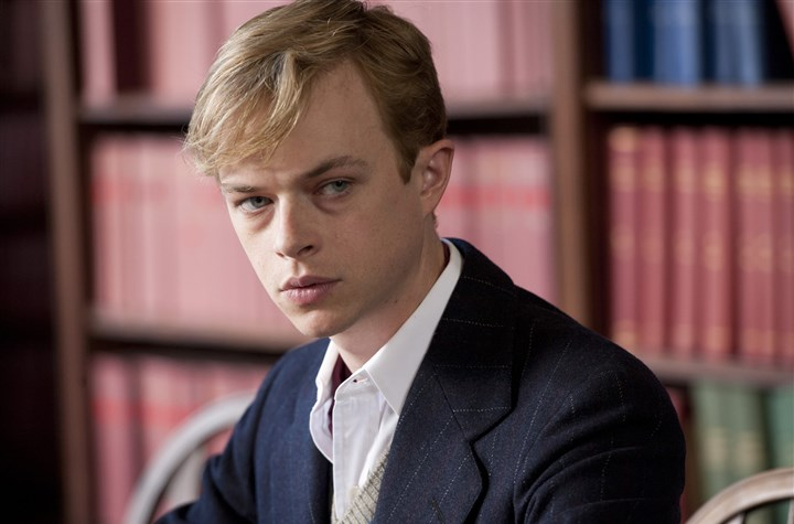 "KillYourDarlings4-5 Dane DeHaan stars as Lucien Carr, who kills David Kammerer (played by Michael C. Hall), an older hanger-on of the Beat crowd, in ""Kill Your Darlings."""