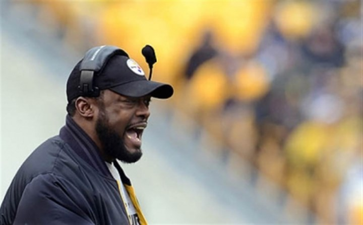 Tomlin Steelers coach Mike Tomlin at Heinz Field