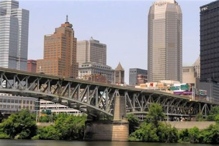 Liberty Bridge The Liberty Bridge, Downtown, is targeted for a $79 million rehabilitation as part of a larger set of proposed improvements to the region's transportation system.