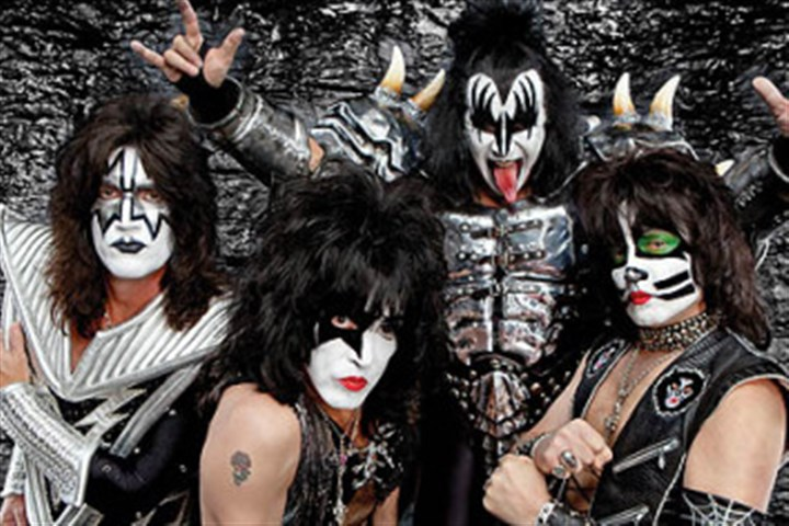 Kiss KISS, from left, Gene Simmons, Tommy Thayer, Eric Singer and Paul Stanley.