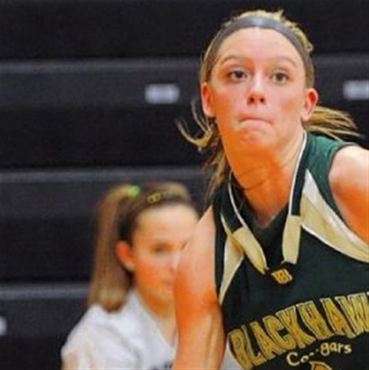 Blackhawk Basketball Chassidy Omogrosso is a returning starter for Blackhawk.