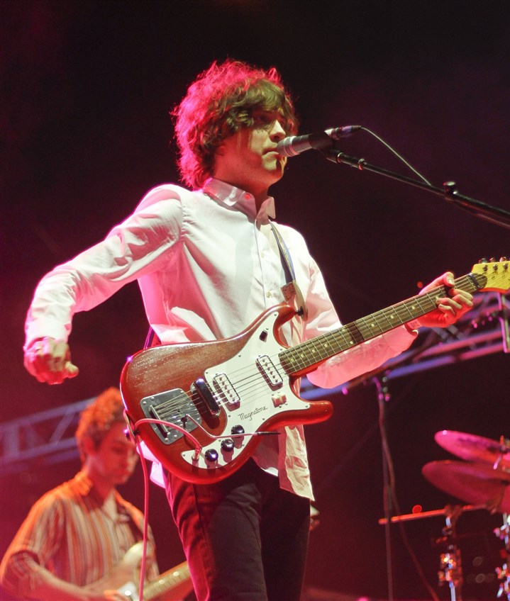 MGMT Andrew VanWyngarden and the rest of MGMT will perform at Stage AE Monday.