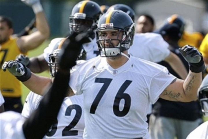 steeleside1215 Steelers offensive tackle Mike Adams is one player who could get an extended look down the stretch of the 2013 season.