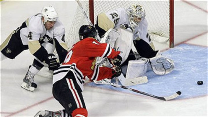 Rob Scuderi and Marc-Andre Fleury Penguins defenseman Rob Scuderi, left, led the charge on calling out his teammates for failing to play sound defensive hockey.