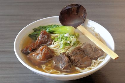 Beef and beef tendon noodle soup Beef and beef tendon noodle soup from Everyday Noodles in Squirrel Hill.