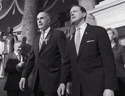Sens. Bob Casey and Pat Toomey Sens. Bob Casey, left, and Pat Toomey at the U.S. Capitol.