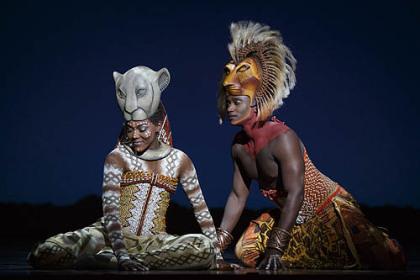 Lion King Musical Simba And Nala Nala And Simba in The Lion